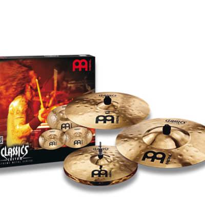 """Meinl CC-EM480 Classics Custom Extreme Metal Box Set 14/18/20"""" Cymbal Pack"""