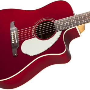 Fender Sonoran SCE Cutaway Dreadnought w/ Electronics Candy Apple Red