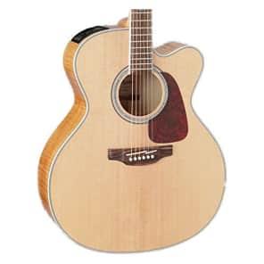Takamine GJ72CE NAT Jumbo Cutaway Acoustic-Electric Guitar, Natural for sale