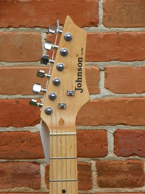 Johnson By Axl Strat Stratocaster Electric Guitar Natural