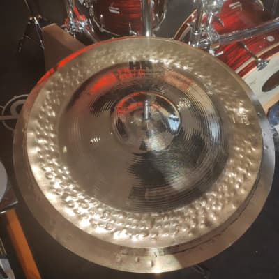 "Sabian Mike Portnoy Max Stax 14"",12"" played and signed by Dave Elitch"