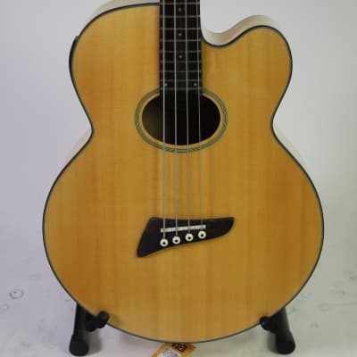 Used Tobias TOBY PRO 4CE Acoustic Bass Guitar Natural