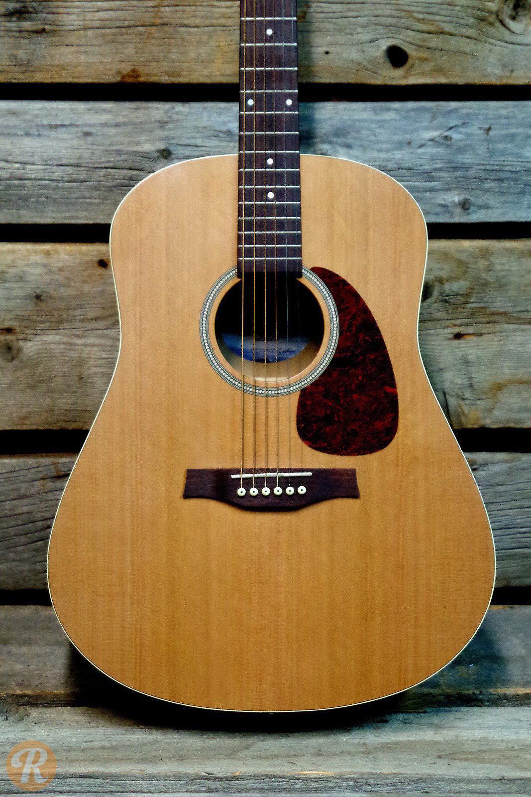 Seagull s6 original slim natural reverb for Motor city guitar waterford