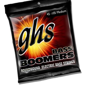 GHS M3045 Boomers Long Scale Bass Strings - Medium (45-105)