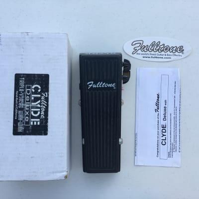 Fulltone Clyde Deluxe Wah Wah 3-Modes Rare Guitar Effect Pedal + Original Box
