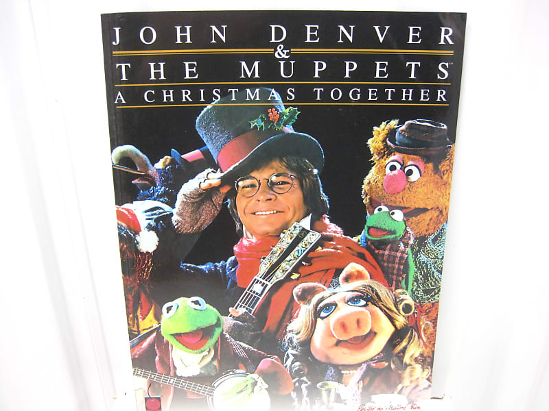 John Denver The Muppets A Christmas Together Sheet Music Song | Reverb