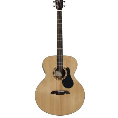 Alvarez ABT60E guitar bariton naturel Gloss finish