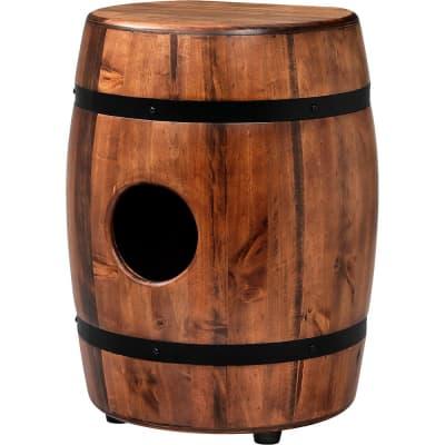 Latin Percussion M1406WB Matador Whiskey Barrel Cajon Tumba