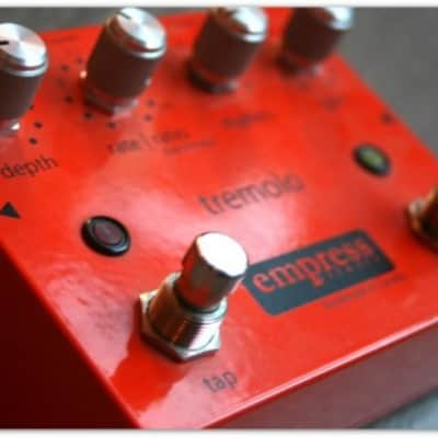 """Empress """"Tap Tremolo"""" First version of a classic."""