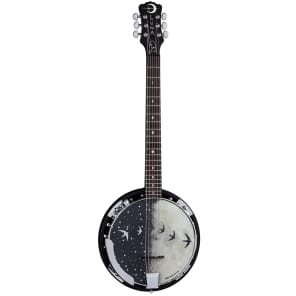 Luna Guitars Moonbird 6-String Acoustic-Electric Banjo for sale