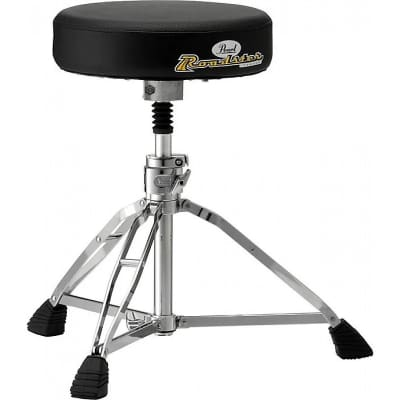 Pearl D1000SPN Roadster Double-Braced Round Drum Throne with Shock Absorber