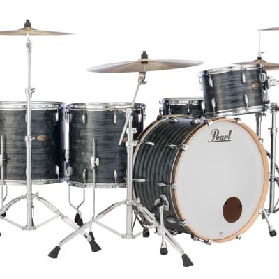 "Pearl Session Studio 8""x7"" Tom MOLTEN MATTE BLACK PEARL STS0807T/C762 Drum"