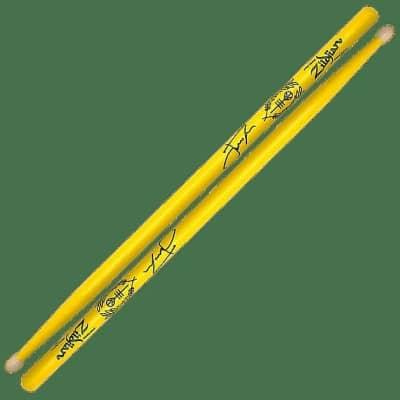 "Zildjian ZASJD2 Josh Dunn Signature ""Trench"" Yellow (Pair) Drum Sticks"