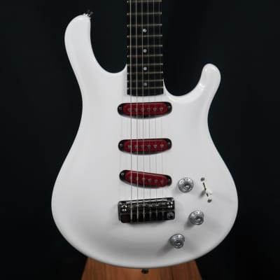 Eklein/Flaxwood Audi White Electric Guitar for sale