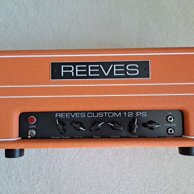 Reeves Custom 12 PS Amplifier Orange for sale