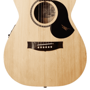 Maton Performer 808 Slimline Acoustic Electric Guitar w/Case - Natural Satin for sale