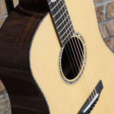 Bedell Milagro Dreadnought - Lefty - 2018 - Sitka Spruce - Brazillian Rosewood for sale