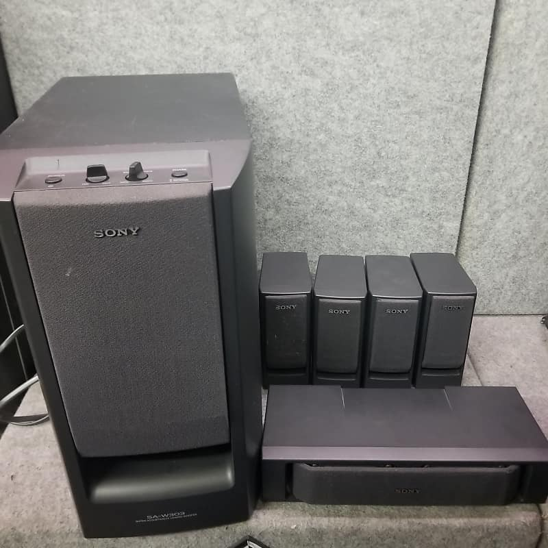 Sony 5.1 Surround Sound System W/ Active Subwoofer