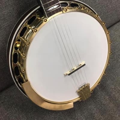 Hawthorn Maple Top Tension RB-7 Style banjo 2019 Argentine Gray sunburst