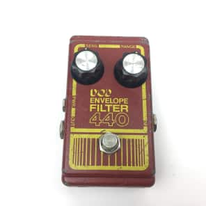 DOD Envelope Filter 440 Original Vintage 1977 Red/Yellow for sale