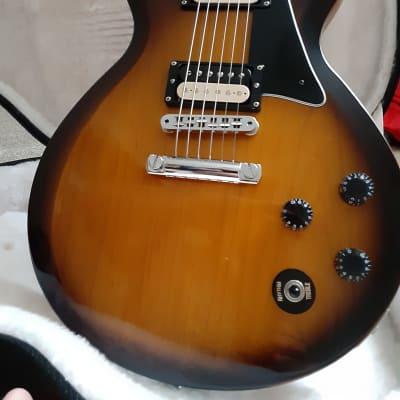Gibson USA 335S Reissue (2011) Rounded Maple Neck & Solid Maple Body Burstbuck 1 & 2 pickups  OHSC for sale