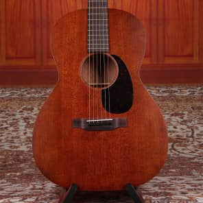 Martin 000-15SM Mahogany 000-12 Fret Slot Head Acoustic Guitar for sale