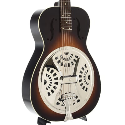 Beard Deco-Phonic Model 27 Roundneck Resonator Guitar & Case for sale