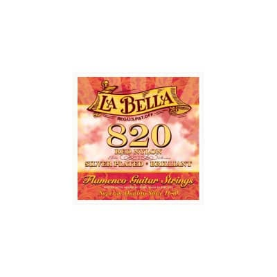 La Bella 820 Flamenco Classical Guitar Strings
