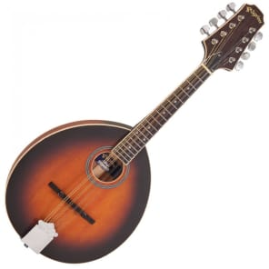 Pilgrim VPMA15 Redwood Round Soundhole Mandolin for sale