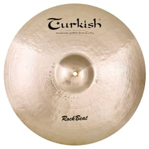 "Turkish Cymbals 21"" Rock Series Rock Beat Crash / Ride RB-CR21"