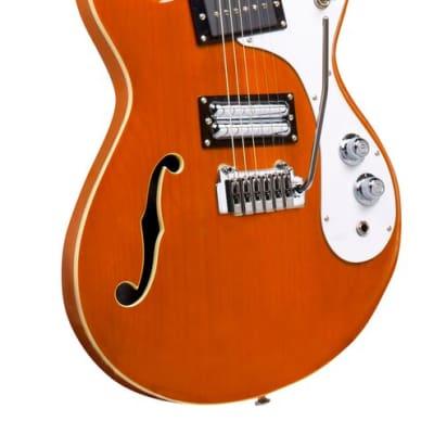 Danelectro'66 w/ Tremolo, Tranparent Orange 66T-TRORG