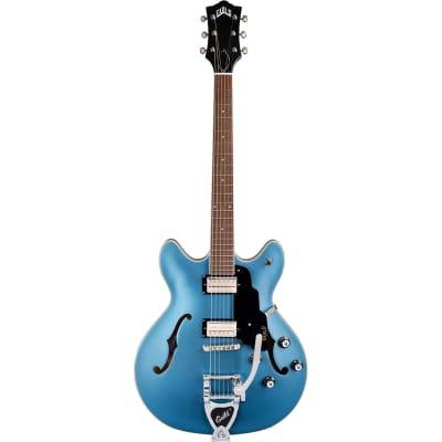 Guild Newark St. Collection Starfire I DC Pelham Blue Semi-Acoustic Guitar for sale