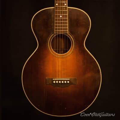Vintage 1928 Gibson L1 Sunburst Acoustic Guitar