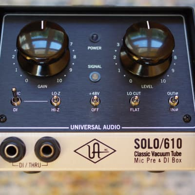 Uad tube preamp