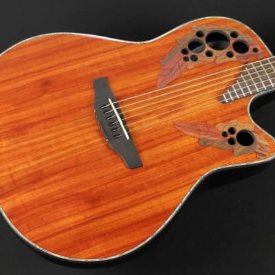Ovation CE44P-PD Acoustic-Electric Guitar - Padauk (253) for sale