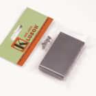 Genuine Kluson Milled Steel Lefty Vintage Strat Sustain Tremolo Block - KVSB LH image