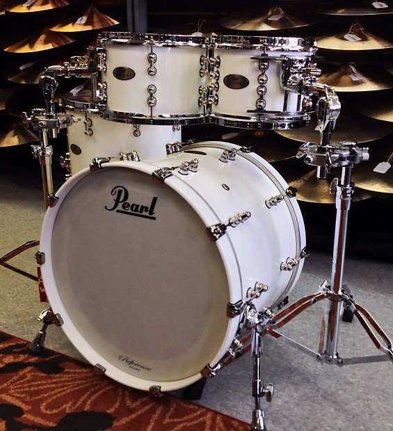 pearl rfp924xup c109 reference pure 4pc shell pack with free reverb. Black Bedroom Furniture Sets. Home Design Ideas