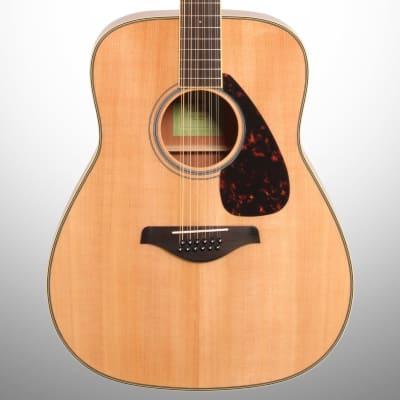 Yamaha FG82012 Folk Acoustic Guitar, 12-String
