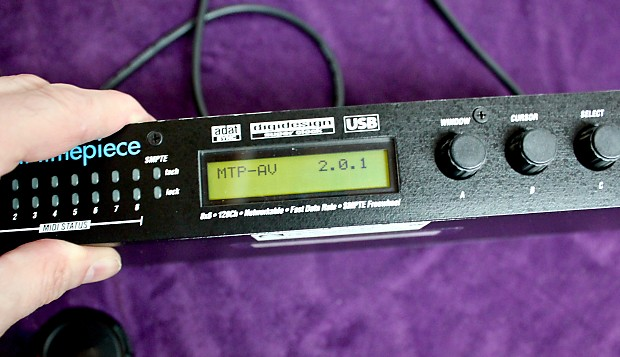 MOTU MIDI TIMEPIECE AV USB DRIVERS DOWNLOAD
