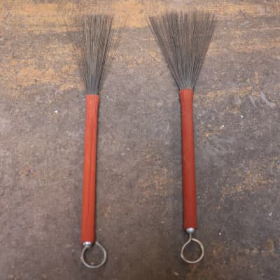 Retractable  Wire Brushes Vintage