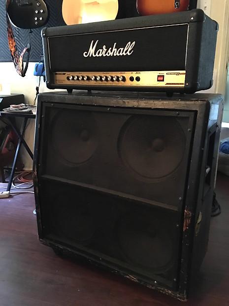 Marshall Avt 50h Valvestate 2000 Head And 4x12 Cabinet