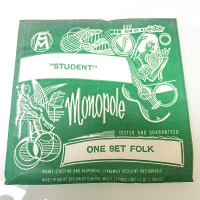 Monopole Student Folk Set Strings 50's