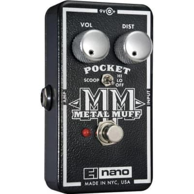 Electro-Harmonix Pocket Metal Muff Distortion Pedal for sale