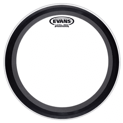 Evans BD24EMADHW EMAD Heavyweight Clear Bass Drum Head - 24""