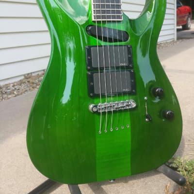 ESP Kiso Custom Src6 Stephen Carpenter Stef-6 2001 See Through Green for sale