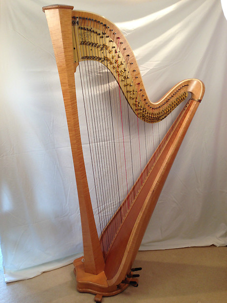Buy A Harp >> Wilfred Smith Concert Classical 7 pedal harp, 47 string | Reverb