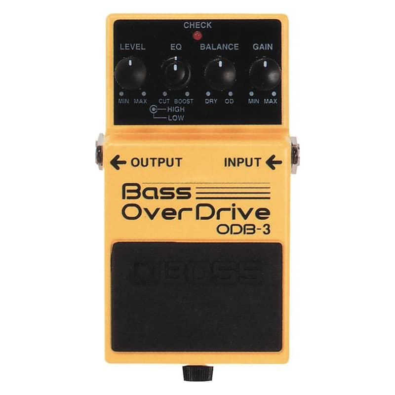 boss odb 3 bass overdrive effect pedal geartree reverb. Black Bedroom Furniture Sets. Home Design Ideas