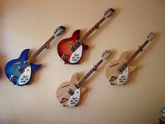 WHITE finish Angled Hangem High Guitar Wall Hanger for Reverb