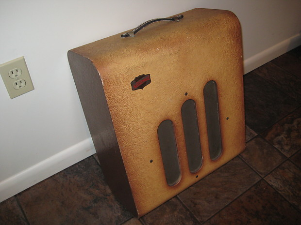 National Guitar Tube Amp Vintage Usa From 1947 Reverb