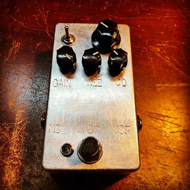 Make Sounds Loudly Pedals Wasp VCF filter low pass band pass high pass notch
